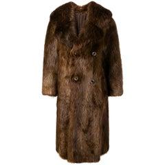 1970s A.N.G.E.L.O. Vintage Cult Beaver Fur Coat