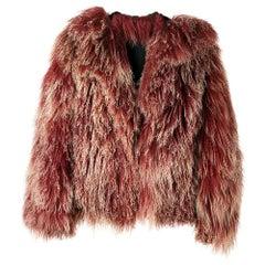 1970s A.N.G.E.L.O. Vintage Cult Mongolia Fur
