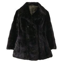 1970s A.N.G.E.L.O. Vintage Cult Nutria Fur Coat