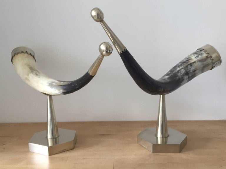 Late 20th Century 1970s Anthony Redmile Mounted Horns For Sale