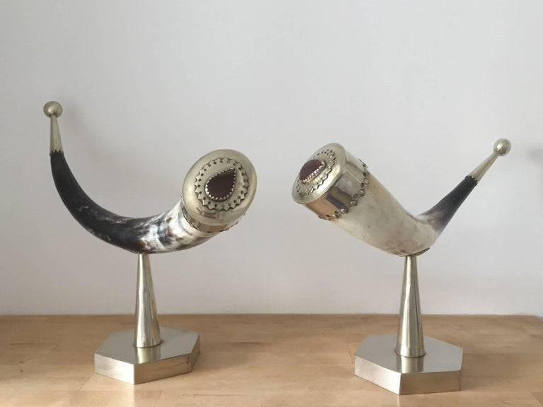 1970s Anthony Redmile Mounted Horns For Sale 2