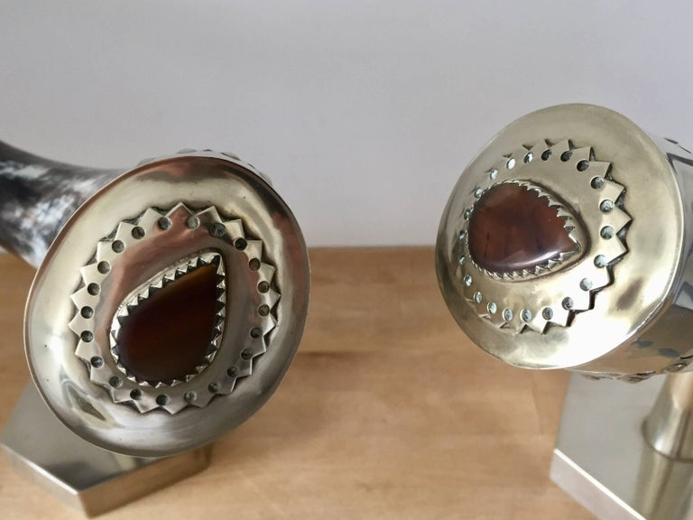 1970s Anthony Redmile Mounted Horns For Sale 4