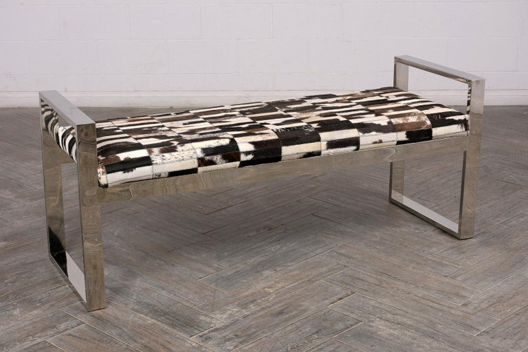 Late 20th Century 1970s Aspen Modern Bench For Sale