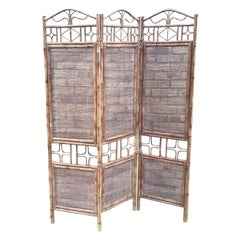 1970s Bamboo Screen/Room Divider