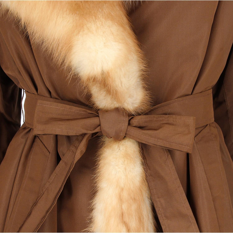 Beech Marten Fur Coat For Sale at 1stDibs