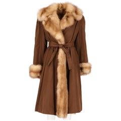 1970s Beech Marten Fur Coat