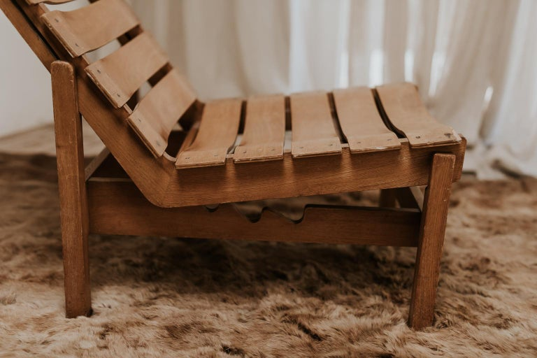 Late 20th Century 1970s Bentwood Lounge Chair For Sale