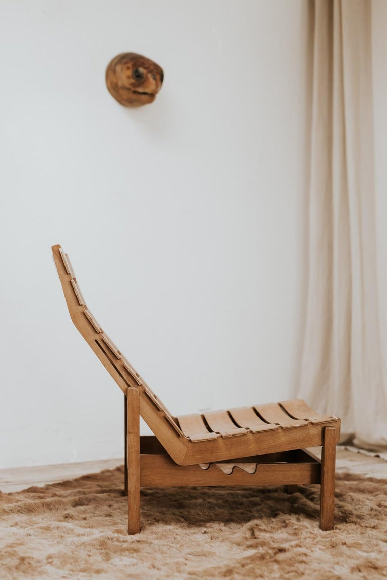 1970s Bentwood Lounge Chair For Sale 1