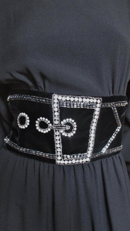 Women's Bob Mackie Trompe L'oeil Dress 1970s For Sale