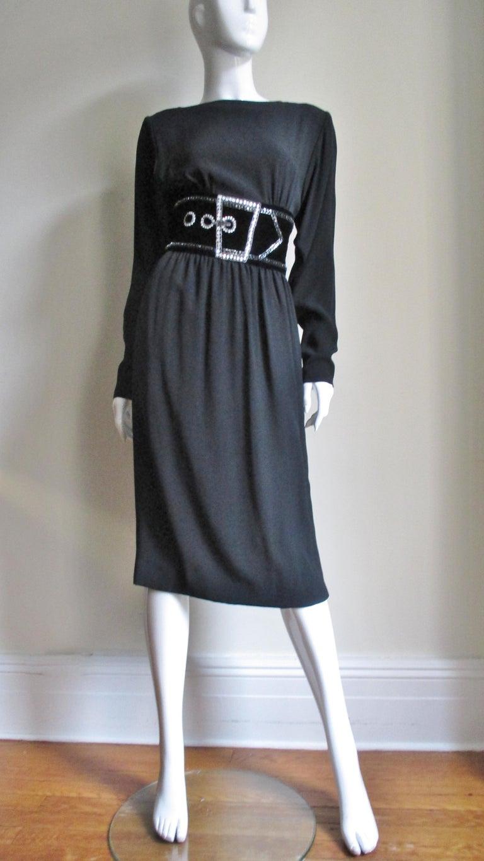 Bob Mackie Trompe L'oeil Dress 1970s For Sale 3
