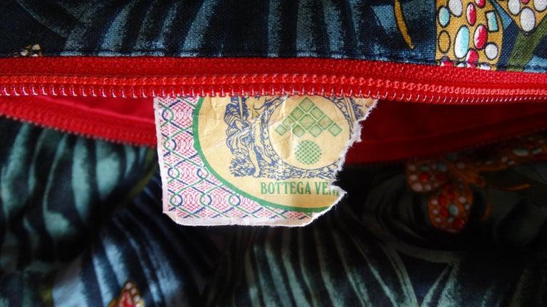 1970s Bottega Veneta Rainforest Bucket Bag For Sale 5
