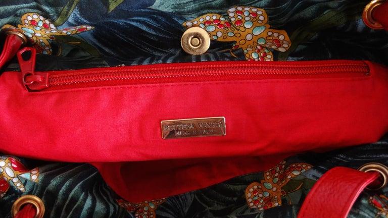 1970s Bottega Veneta Rainforest Bucket Bag For Sale 8