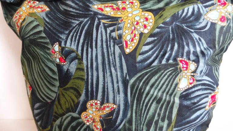 Women's or Men's 1970s Bottega Veneta Rainforest Bucket Bag For Sale
