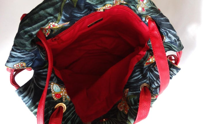 1970s Bottega Veneta Rainforest Bucket Bag For Sale 1