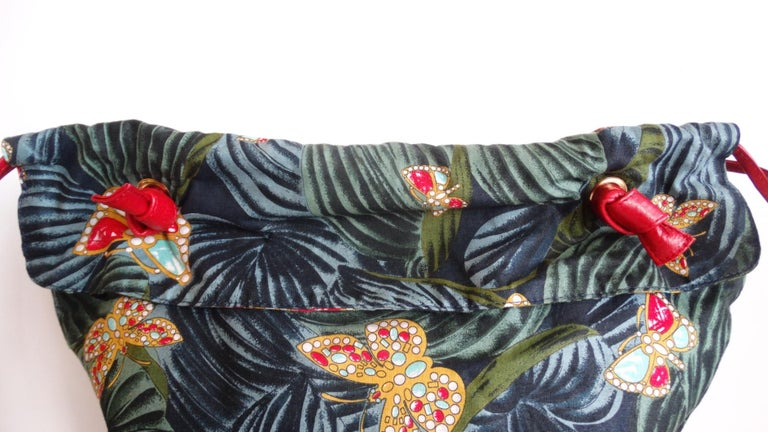 1970s Bottega Veneta Rainforest Bucket Bag For Sale 2