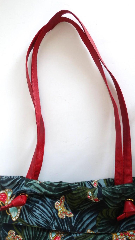 1970s Bottega Veneta Rainforest Bucket Bag For Sale 3
