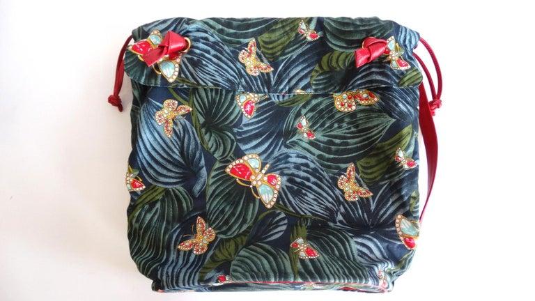 1970s Bottega Veneta Rainforest Bucket Bag For Sale 4