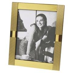 1970s Brass Picture Frame by Italian Designer Noel B.C.