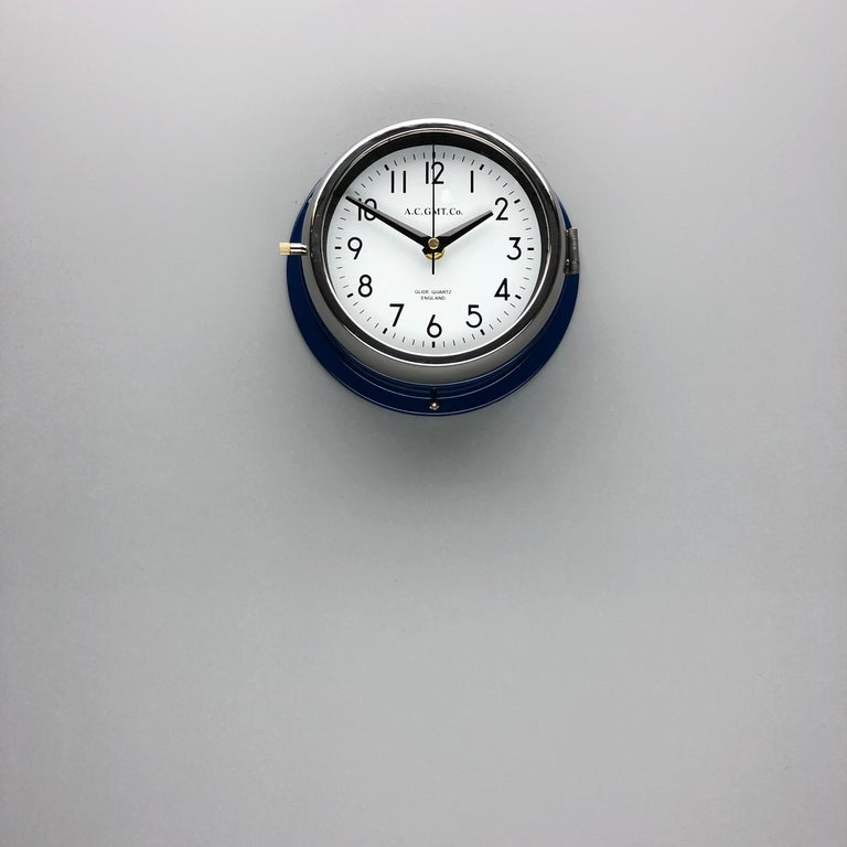 Rescued from Industrial scrap yards and brought back to life in our UK workshop, our expert process allows us to create a high quality clock of luxury standards. 