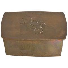 1970s Bronze Horse Keepsake Box California by Chinese artist Wah Ming Chang
