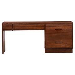 1970s Brown Walnut Desk by George Nakashima 'f'