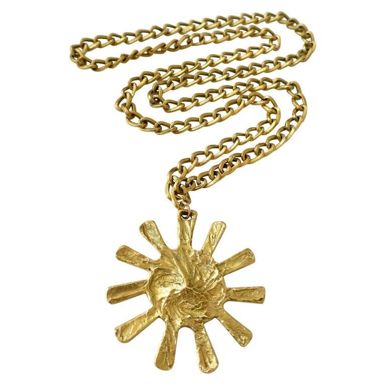 1970s Bulgari Pendant Necklace For Sale