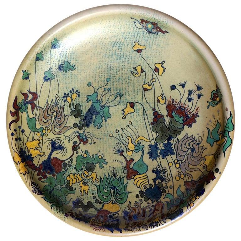 1970er Jahre Von Giacomo Onestini Italienische Keramik Große