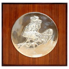 1970s by Luciano Minguzzi for Franklin Mint Limited Edition Silver Cock