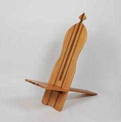 1970s California Studio Craft Chair