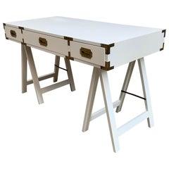1970s Campaign Style Desk