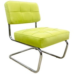 1970s Cantilever Lounge Chair