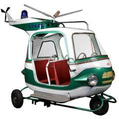 1970s Carousel Helicopter L' Autopède, Begium