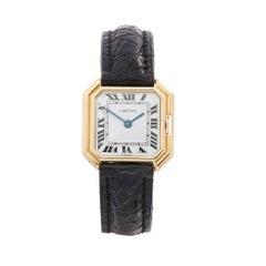 1970's Cartier Ceinture Yellow Gold Wristwatch