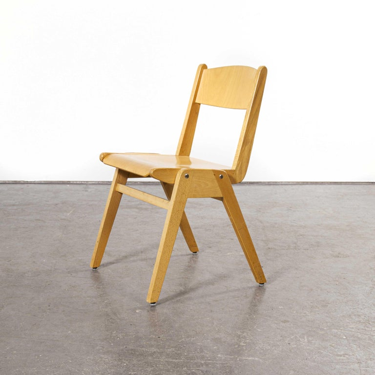 1970s Casala Stacking Dining Chair, Set of Eight For Sale 2