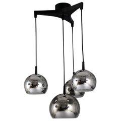 1970s Cascade Light with Metal Balls