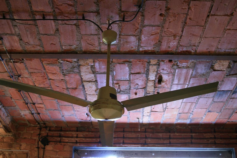 Polish 1970s Ceiling Fan Model EOL For Sale