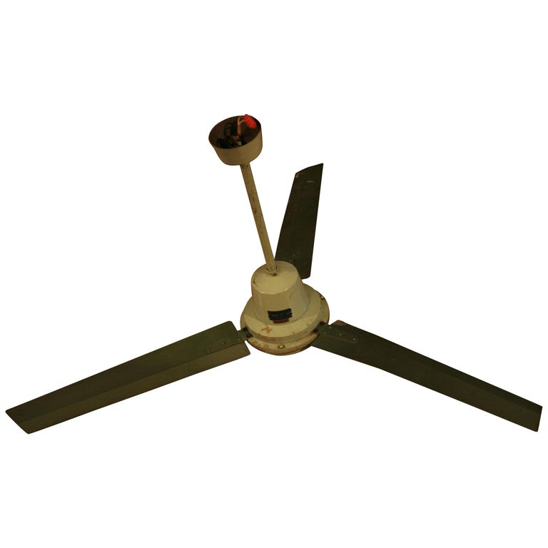 1970s Ceiling Fan : S ceiling fan model eol for sale at stdibs