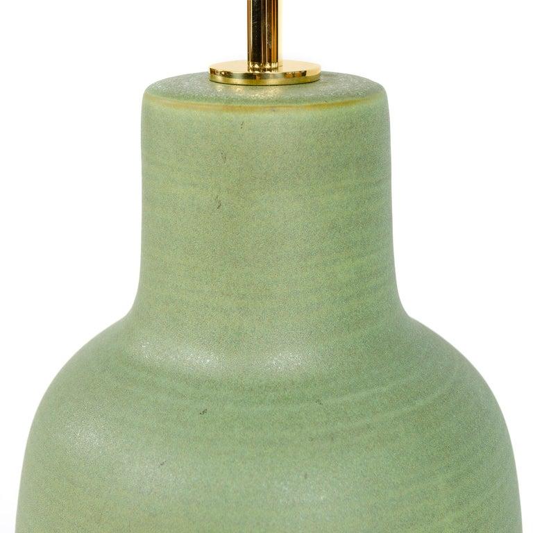 Mid-Century Modern 1970s Ceramic Table Lamp by Lee Rosen for Design Technics For Sale