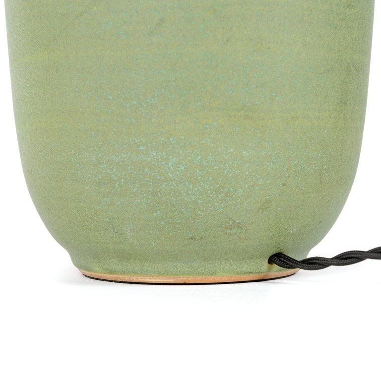 American 1970s Ceramic Table Lamp by Lee Rosen for Design Technics For Sale