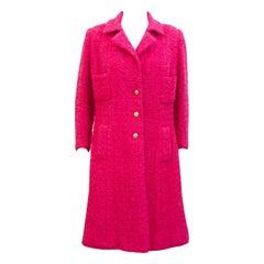 1970's Chanel Haute Couture Bouclé Coat/Dress