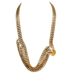 1970's Chanel Multi-Strand Chain/Necklace