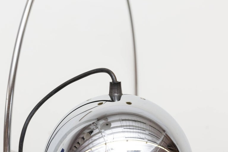 Mid-20th Century 1970s Chrome Gepo Globe Lamp For Sale