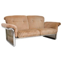 1970s Chrome Sofa by Rodney Kinsman for OMK