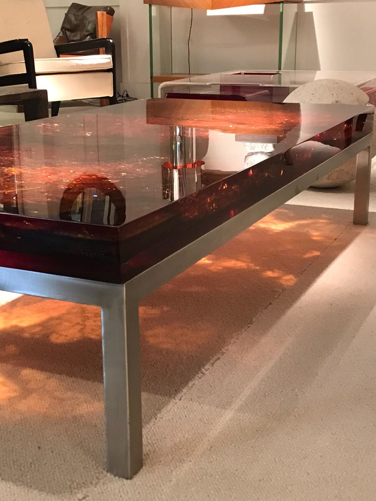1970s Coffee Table by Marie-Claude de Fouquieres For Sale 5