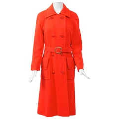 1970s Count Romi Red Knit Coat