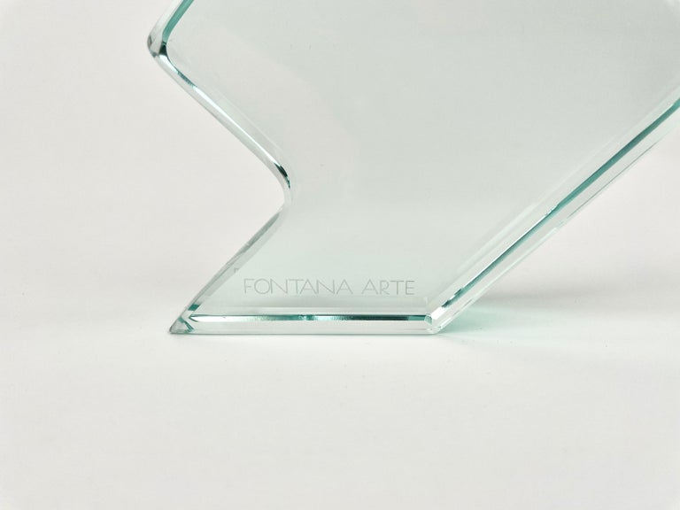 1970s Crystal Paperweight Sculpture by Fontana Arte for ISTUD, Italy For Sale 6