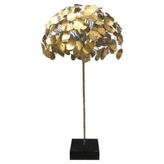 1970s Curtis Jere for Jonathan Adler Raindrop Series Tree Sculpture