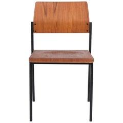 1970s Danish Metal Chair