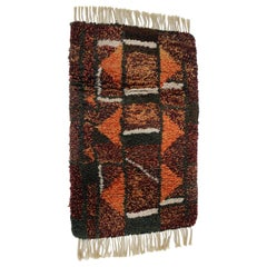 1970s Danish Midcentury Wool Rug