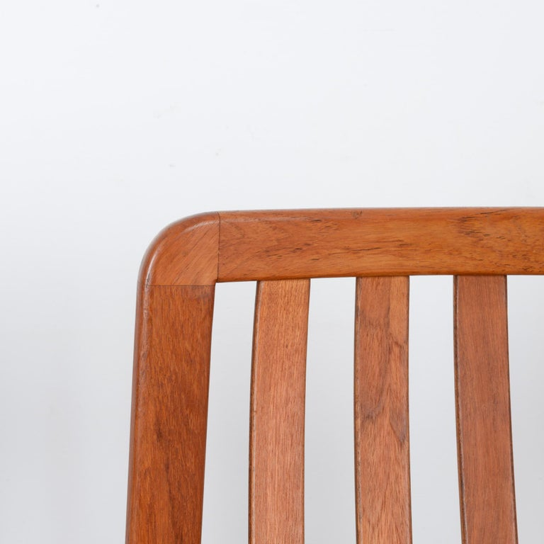 1970s Danish Modern Teak Dining Chairs, Set of Five For Sale 7